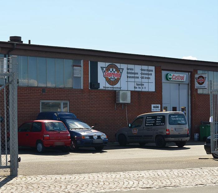 bilverkstad i Malmö