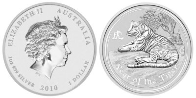 Australiensisk Lunar II - Year of the Tiger