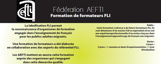 Formation de formateur FLI