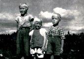 Emil, Elisabeth och Pentti 1943