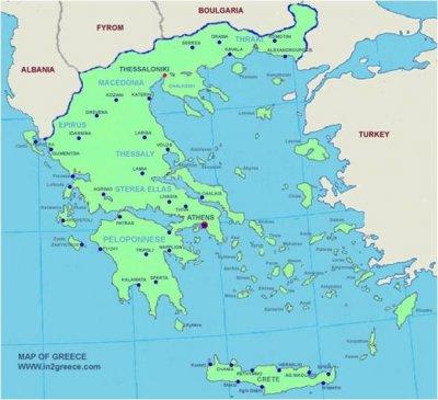 karta grekland öar