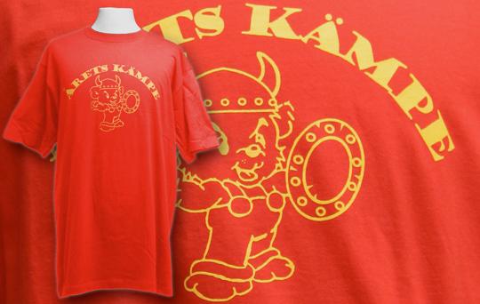 Screentryckta tshirts till Brahe Basket, Årets Kämpe