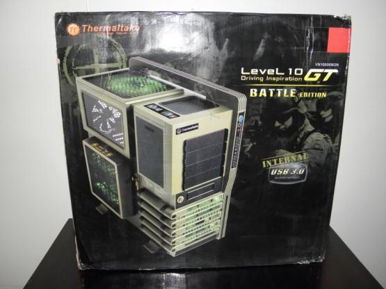 Thermaltake Level 10 GT Battle edition laatikko