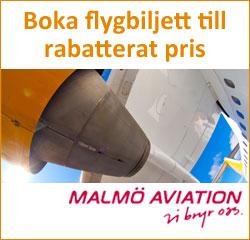 Flyg med Malmöaviation