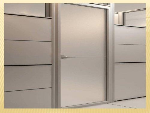 مدل 902 پارتیشن ام دی اف هم دارای فریم ام دی اف با ضخامت کمتر از مدل 901 میباشد و پر کننده دیواره آن ام دی اف و شیشه یا ورق های فلزی میباشد