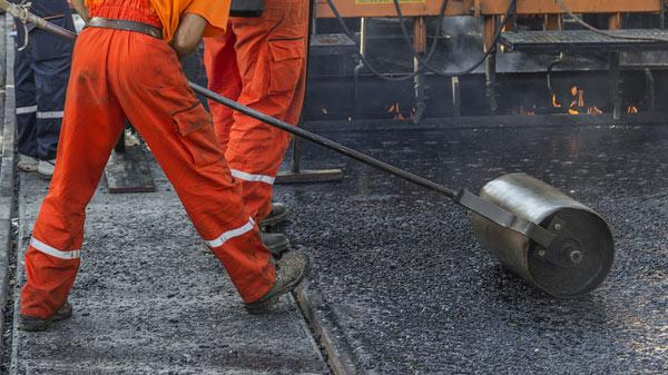 asfaltsläggning i Stockholm