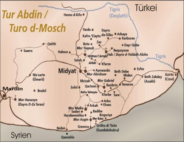 Maps Assyrians Syriacs