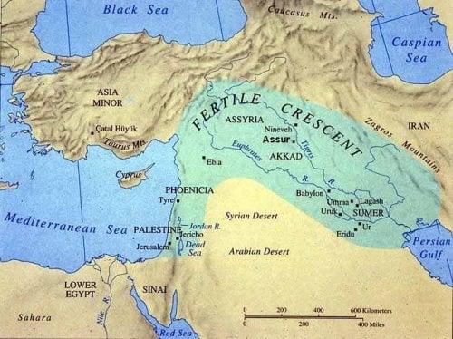 Location Of The Biblical Place Aram Naharaim A K A Aram