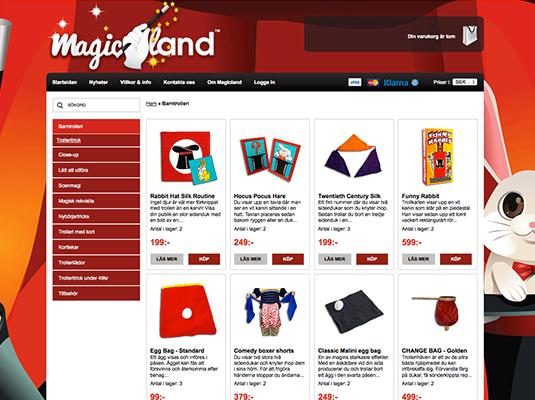 Magicland.se - Trollerisaker online