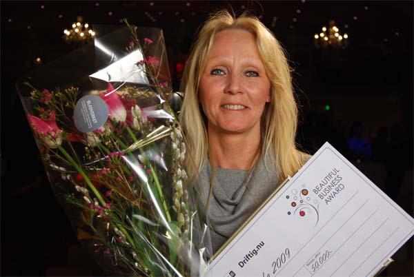 Nina Ottosson - Årets Företagerska 2009