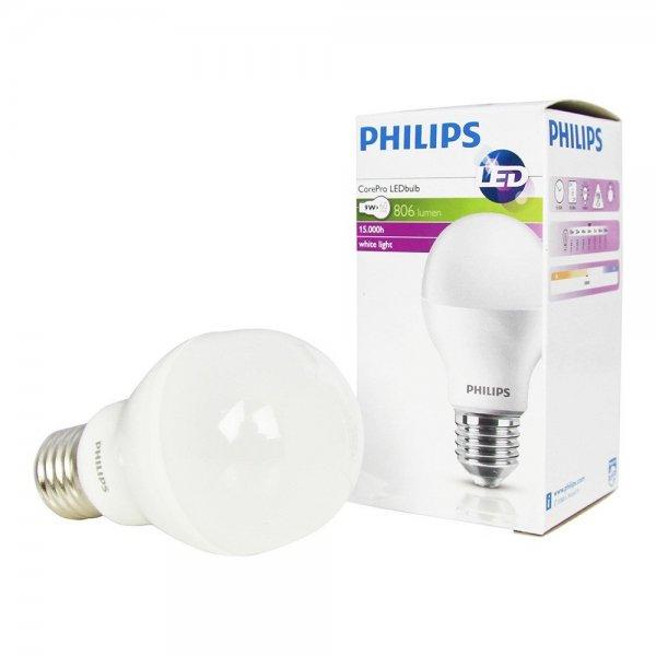 Ljus info på led lampa
