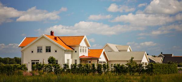 vit villa i Stockholm