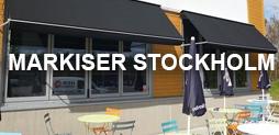 Markiser Stockholm