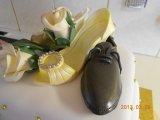 sugarpaste shoes toppdekorations
