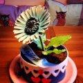 En ätbar blomkruka till min moster