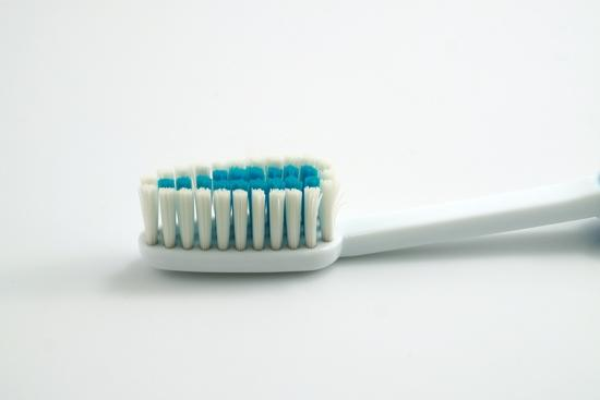 Tandborste i närbild