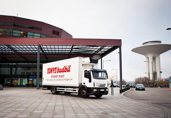 Tonys Budbil har din budbil i Malmö