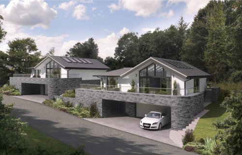 Bygga villa inspiration tips - Norwegian style house plans when classic meets modern ...