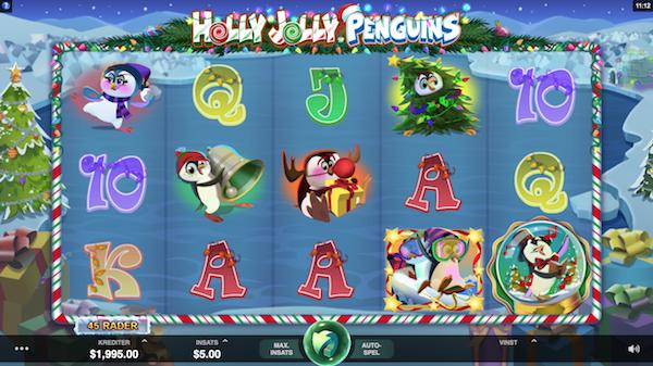 Spelvy Holly Jolly Penguins