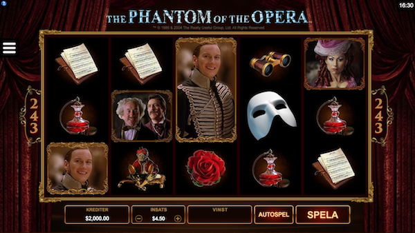 The Phantom of the Opera Microgaming
