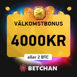Betchan 4000kr bonus
