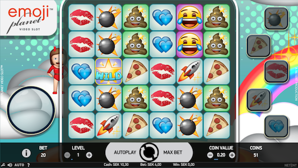 Emoji Planet casinospel