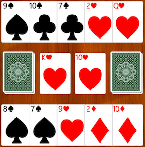 Kortspelet Stress