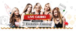 Live casinospel Bob