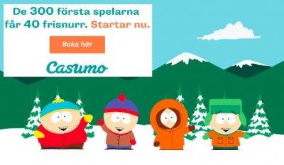 De svenska casinot Casumo låter dig spela på nya South Park!