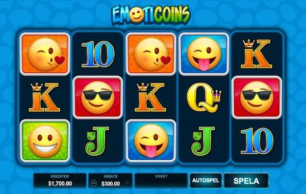 Spelautomat EmotiCoins