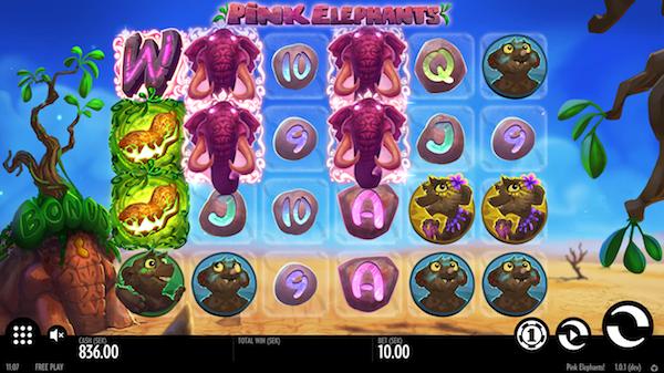 Spelautomat Pink Elephants