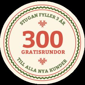 Casinostugan 300 free spins