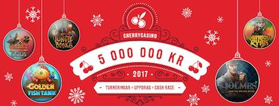 Cherry casino julkalender