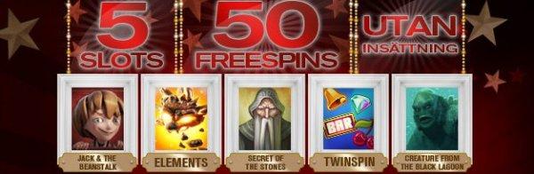 50 gratis free spins för nya spelare hos RedBet!