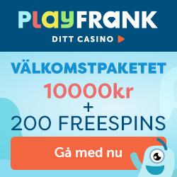 PlayFrank exklusivt erbjudande