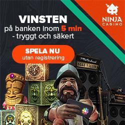 Ninja Casino free spins