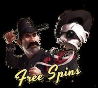 Free spins bonusar