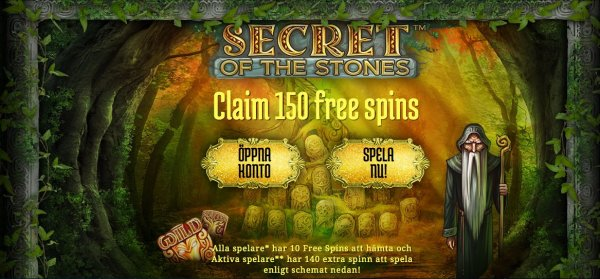 Lansering av Secret of the Stones hos svenska casinot iGame!