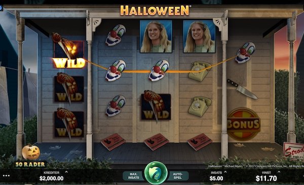 Halloween spel Microgaming