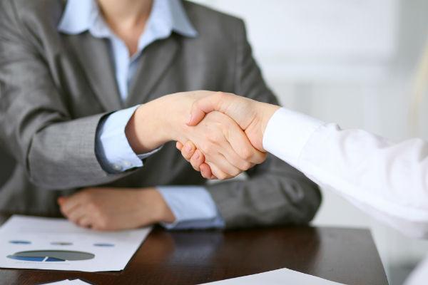vd handslag