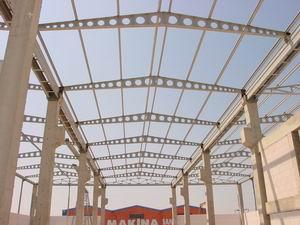 stålkonstruktion utan isolering