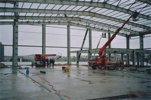 stålkonstruktion till lager