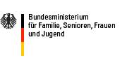Logo des Bundesministerium für Famile, Senioren, Frauen und Jugend