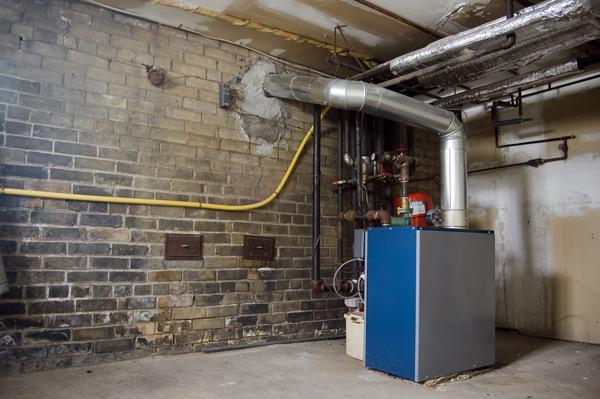 källare varmvattensberedare