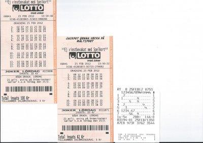 Lotto med joker