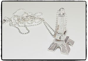 Halsband - 3-D Eiffeltornet