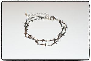 Armband - Small Crosses
