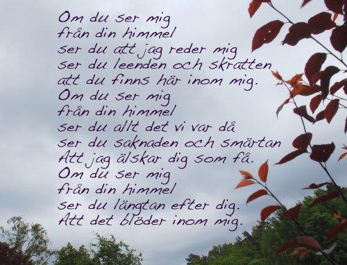 Bildresultat för dikt om saknad