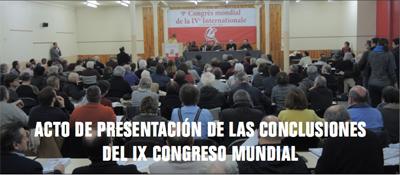 Rapportmöte 9:e Världskongressen
