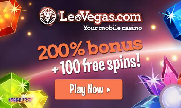 Get your free bonus at Leo Vegas today!